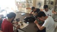 MABESEM'de elektronik ve mekanik alana ilgi duyanlara yönelik Robot Yapımı kursu